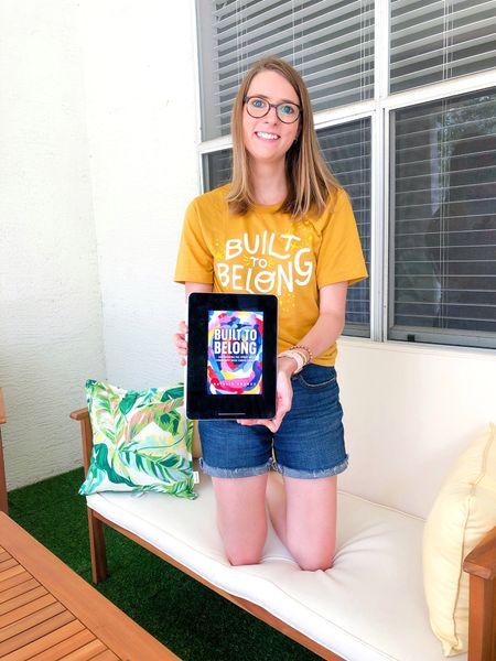 Nonfiction summer reading recommendation - Built to Belong by Natalie Franke  #LTKhome #LTKunder50 #LTKSeasonal