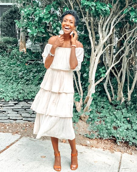 Such a cute last moments of summer dress! The layers are so fun and the off shoulder is quite lovely! http://liketk.it/2Vcsi #liketkit @liketoknow.it #LTKstyletip #LTKtravel #LTKunder50 @liketoknow.it.brasil @liketoknow.it.family @liketoknow.it.europe @liketoknow.it.home Shop my daily looks by following me on the LIKEtoKNOW.it shopping app
