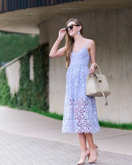 Lace A line midi dress for spring  http://liketk.it/39tNd @liketoknow.it #liketkit #LTKSeasonal #LTKeurope #LTKunder100 @liketoknow.it.europe