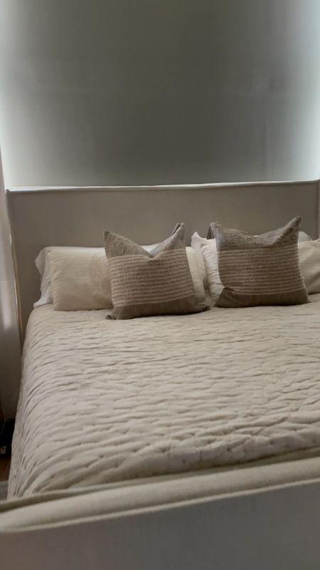 Master bedroom bedding   #LTKSeasonal #LTKhome