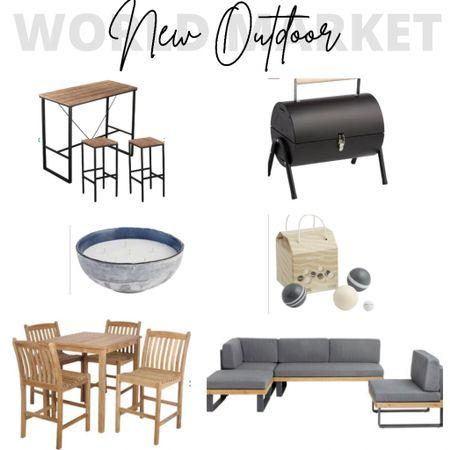 World Market, Outdoor, Outdoor Furniture, Outdoor Decor, Patio Furniture, Patio Decor  #LTKSeasonal #LTKhome