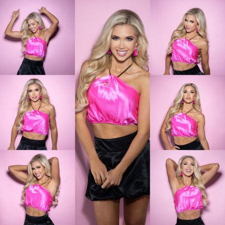 Love a fun pink top, perfect for a night out with friends  #LTKbeauty