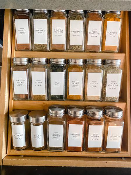 Weekend plans: kitchen organization! #organization #etsy #kitchen #pantry  #LTKhome