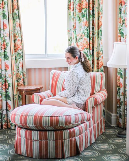 The prettiest poplin pajama set http://liketk.it/33Xhx #liketkit @liketoknow.it #StayHomeWithLTK #LTKunder100 #LTKstyletip