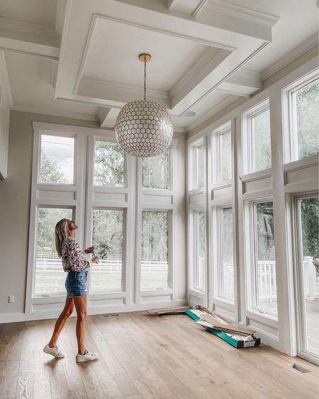 Favorite light fixture to modernize any space!✨✨✨  #LTKfamily #LTKhome #LTKstyletip