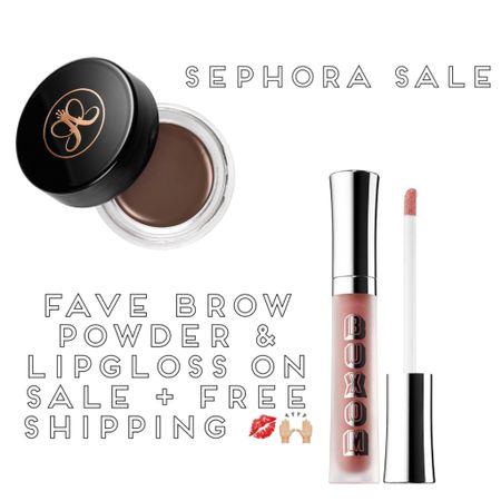 Sephora sale: my favorite brow product & lipgloss 💋 #liketkit #LTKbeauty #LTKsalealert #LTKSpringSale @liketoknow.it http://liketk.it/3aZes