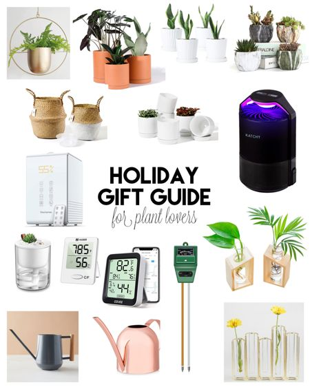 If you're shopping for someone adopted a lot of house plants this year, these gifts are sure to please! We're talking planter pots, moisture and humidity tools, and more!   #LTKgiftspo #LTKunder50 #LTKhome