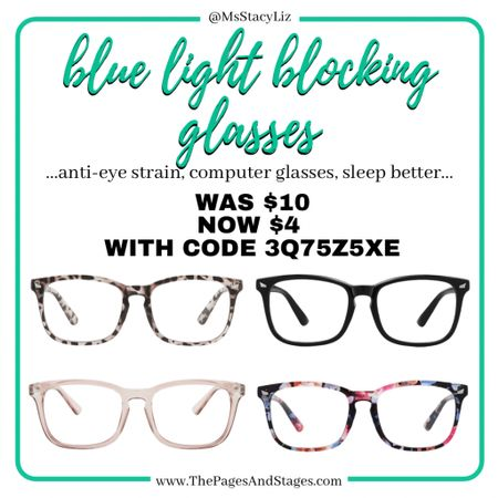 Blue light blocking glasses are so good! Especially before sleeping and you're on the computer or your phone. Good sale with code! http://liketk.it/33BI6 #liketkit @liketoknow.it