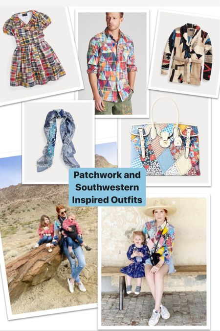 Patchwork clothing is the newest trend. I'm linking some of my longtime favorites and new favorite pieces below! #LTKstyletip #LTKfamily #liketkit @liketoknow.it http://liketk.it/2TJim