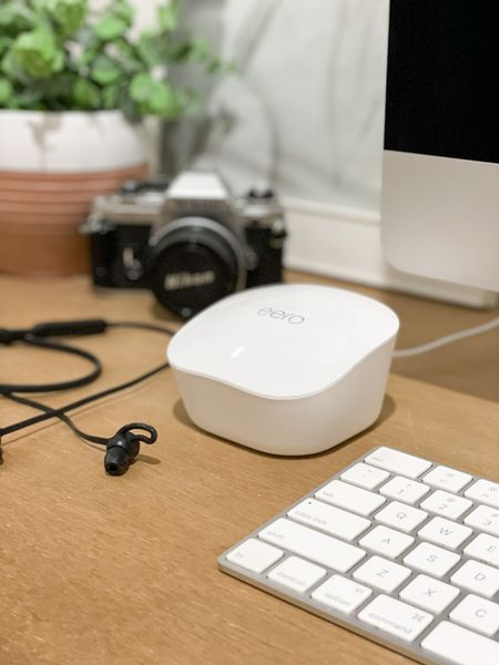 We are loving the coverage with this Eero WiFi mesh system. even have a signal in our barn now - perfect for any WFH or virtual learning situation. Added bonus: you can set up profiles app and control which devices access to WiFi. 🙌🏼   #LTKfamily #LTKhome #StayHomeWithLTK