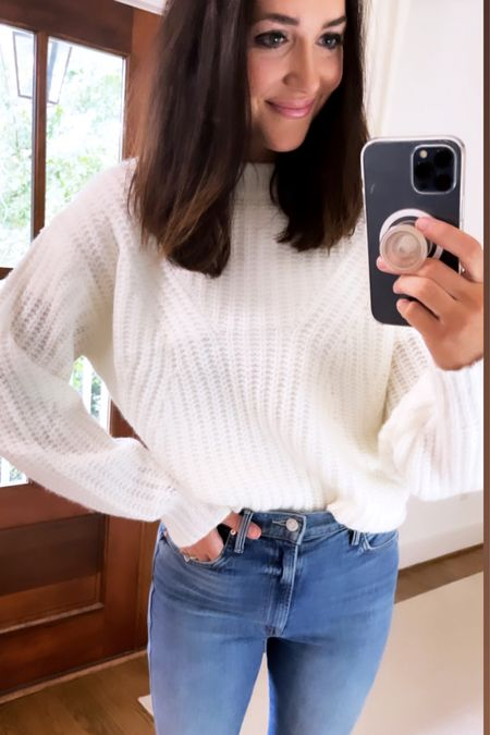 The coziest sweater from target 🎯- I had this one last year too and rebought it in white this year ✔️✔️   #LTKunder50 #LTKunder100 #LTKSeasonal