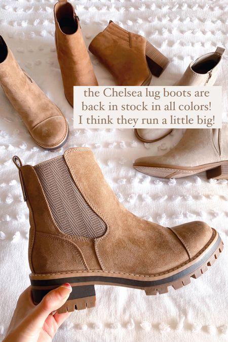 Time and tru Chelsea boots, Walmart boots  **sizing: I think these run a little big. I got an 8. I'm an 8.5 in target shoes!    #walmartfinds #walmartfashion #ltkunder30 #walmartboots #affordable #fallboots #bootsunder30   #LTKSeasonal #LTKunder50 #LTKshoecrush