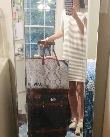The comfiest travel look thanks to this $30 amazon dress! @liketoknow.it #liketkit #LTKunder50 #LTKtravel http://liketk.it/2EM4j