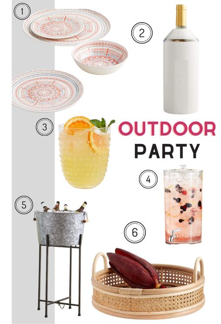 Hosting an outdoor party this summer? Here are some patio accessories your guests will love.   #LTKunder50 #LTKhome #LTKunder100