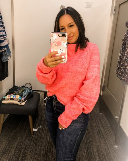 Too Good Sweater FREE PEOPLE sweater is on sale for $44. Runs big. Size down one size