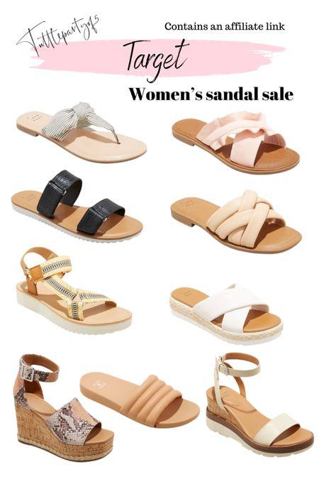 Target women's sandal sale    http://liketk.it/3ibOH #liketkit @liketoknow.it #LTKsalealert #LTKshoecrush #LTKunder50