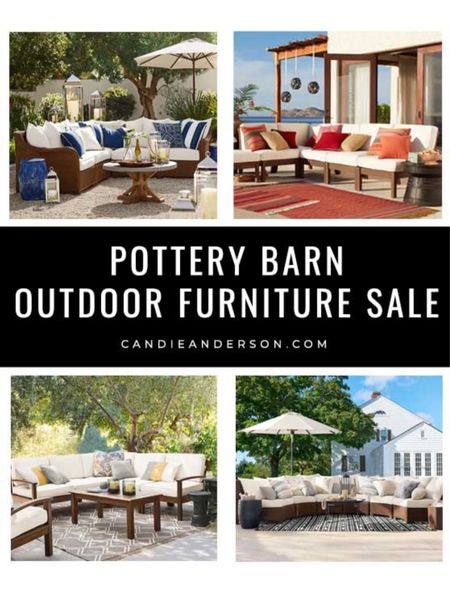 Pottery Barn outdoor furniture sale! Best outdoor sectionals. Labor Day sale. Labor Day Weekend Sale. Pottery Barn Labor Day Sale must haves ❤️❤️❤️  #LTKhome #LTKSeasonal #LTKsalealert