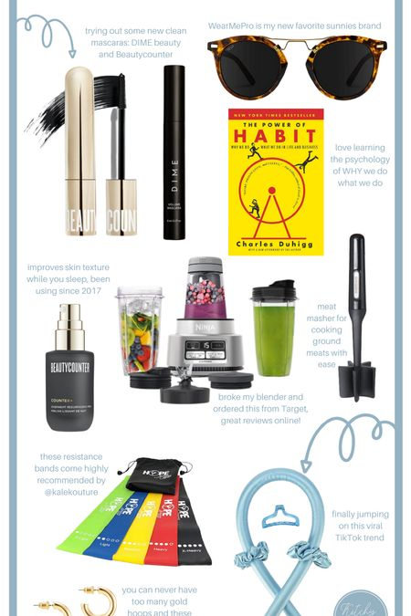 What I Bought in August #amazonfinds