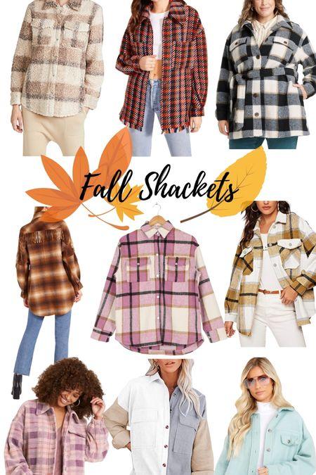 Fall shackets to wear all season!