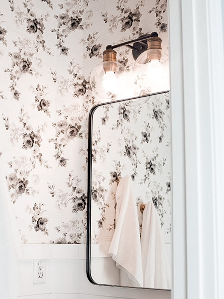 Prime Day deals happening on my favorite little bathroom! Our mirror has an extra coupon and these ruffle towels are the cutest! Linked the waffle and ruffle hand towels we use all the time! http://liketk.it/3iaLd #liketkit @liketoknow.it @liketoknow.it.home #LTKsalealert #LTKhome