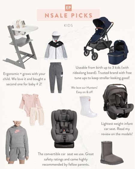 the best kids gear + apparel deals from the Nordstrom Anniversary Sale! Check my blog post for detailed reviews on Nuna car seats, the uppababy vista, and stokke high chair   •Stokke Tripp Trapp bundle •UPPAbaby vista •Nuna Rava and Pipa Lite •Nike •Hunter •Ugg   #LTKfamily #LTKsalealert #LTKbaby http://liketk.it/3jT4l #liketkit @liketoknow.it