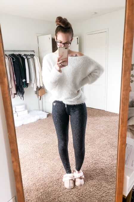 My introverted self is loving this whole social distancing thing 🥰. I haven't worn jeans in weeks and I'm sure most of you are working from home like I am right now 🙌🏻 so I'll be sharing lots of comfies for the foreseeable future. I've created a work from home capsule that in no way includes jeans 🙅🏻♀️ cuz idk how anyone wears jeans while at home. In my normal working world the first thing I do when I come home is take off my jeans and put on my comfies. I do support incorporating some work wear into your WFH style (as seen with this sweater) but you gotta be comfortable above all else!! Have you been getting dressed like normal to WFH or just sticking to lounge wear and PJs?  http://liketk.it/2MnC7 #liketkit @liketoknow.it