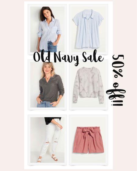 50% off Old Navy Sale - Spring Outfit Ideas  #LTKsalealert #LTKfamily #LTKunder50