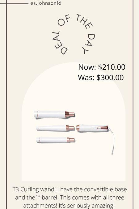 T3 curling wand on prime day! On sale for $210 for all 4 pieces!   http://liketk.it/3iaEh #liketkit @liketoknow.it #LTKsalealert #LTKbeauty #LTKunder50
