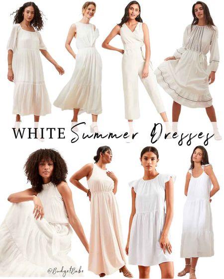 Found the prettiest white dresses at BR Outlet, all on sale! http://liketk.it/3hVrp #liketkit @liketoknow.it #LTKunder50 #LTKunder100 #LTKwedding