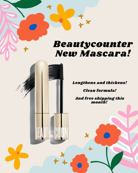 New mascara from Beautycounter Think Big All in One mascara! It is REALLY good! And clean! BC has free shipping sitewide in October too.    #LTKbeauty #LTKstyletip #LTKGiftGuide
