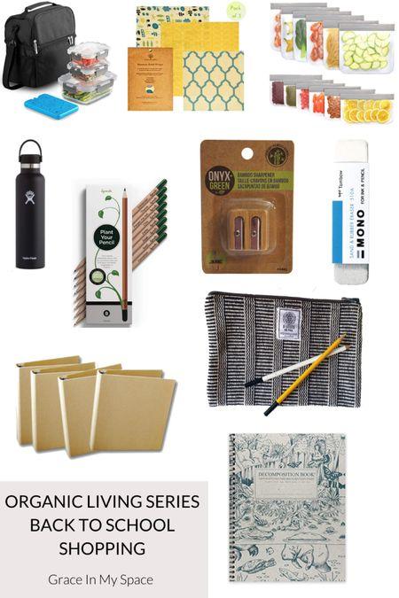 Here are some must have organic back to school items!  #LTKSeasonal #LTKbacktoschool