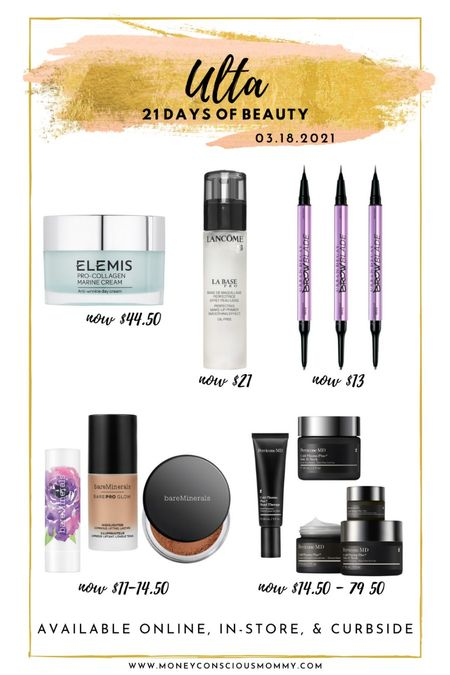 Today's Beauty Steals! 50% off!  #elemis #urbandecay #bareminerals #perriconemd   #LTKSeasonal #StayHomeWithLTK #LTKbeauty