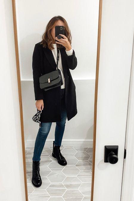 Fall outfit ideas. Lace up boots. Fall coat   #LTKstyletip #LTKsalealert #LTKshoecrush