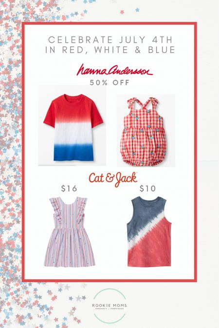 Get your red, white and blue outfits for up to 50% off    http://liketk.it/3hIkI #liketkit @liketoknow.it #LTKbaby #LTKfamily #LTKsalealert @liketoknow.it.family  Screenshot this pic to get shoppable product details with the LIKEtoKNOW.it shopping app   #4thofjuly #redwhiteandblue