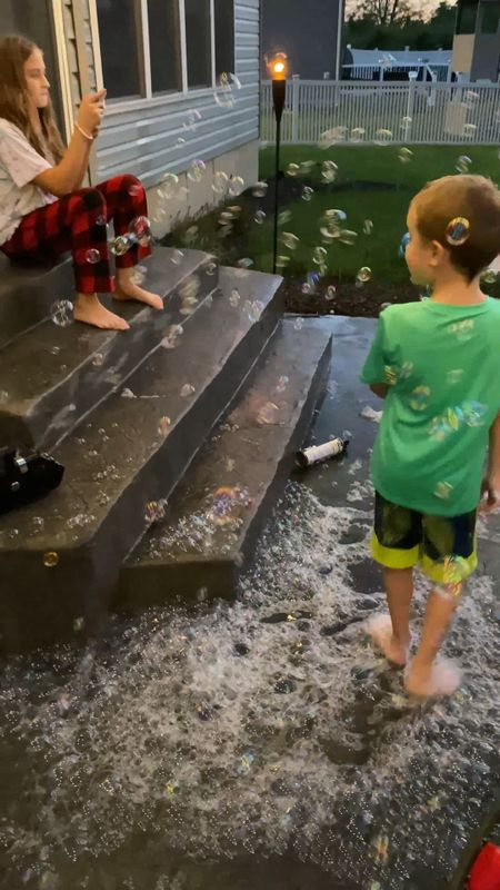 The best bubbles and bubble machine ever  #LTKSeasonal #LTKfamily #LTKkids