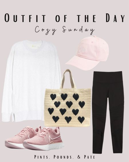 Sunday casual athleisure outfit inspiration!   #LTKstyletip #LTKfit