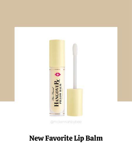 Fall, lip balm, Sephora, too faced, lip gloss.   #LTKstyletip #LTKbacktoschool #LTKbeauty