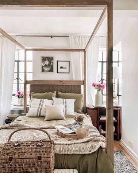 New mattress for the guest room (under $200), linen bedding & pillows http://liketk.it/3imBi #liketkit @liketoknow.it #LTKunder100 #LTKhome #LTKunder50