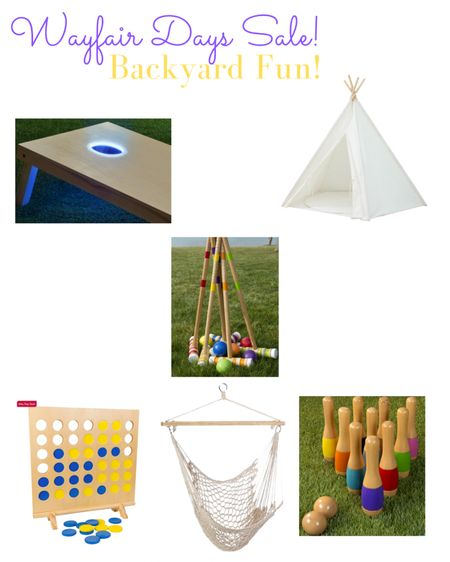 Wayfair Days backyard fun! Sun's out fun's out! #LTKsalealert #LTKhome #LTKfamily #liketkit @liketoknow.it @liketoknow.it.home @liketoknow.it.family Screenshot this pic to get shoppable product details with the LIKEtoKNOW.it shopping app http://liketk.it/3eacB