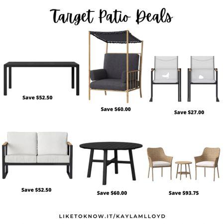 Target has some amazing savings on Patio Furniture today! http://liketk.it/3fDsX @liketoknow.it #liketkit #LTKsalealert #LTKhome #LTKstyletip