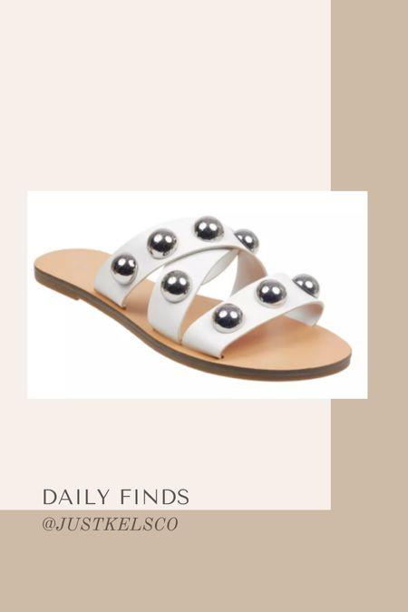 Daily find 🤍 Marc fisher sandals on sale under $30!   #LTKunder50 #LTKshoecrush #LTKsalealert