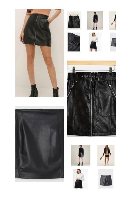 Faux leather skirts for autumn and winter   #LTKstyletip #LTKSeasonal #LTKeurope
