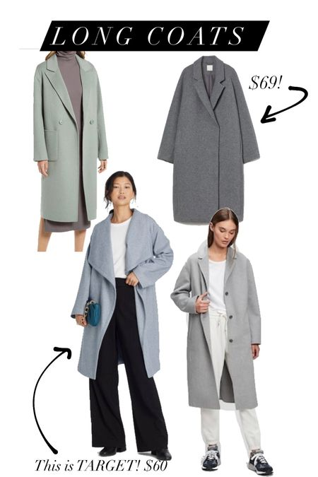Long coats for Fall!   #LTKstyletip #LTKunder100 #LTKSeasonal