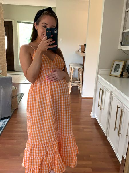 Thanks for helping me pick a maternity dress for my baby shower! Loving this $14 option! http://liketk.it/3jtDR #liketkit @liketoknow.it   #LTKbump