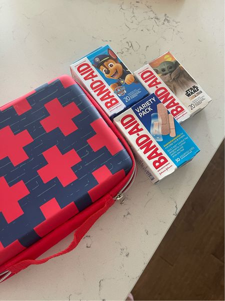 Free case with purchase of three band aid items at Target! Great option for the car especially with summer vacations and the beach!  #LTKsalealert #LTKkids #LTKfamily