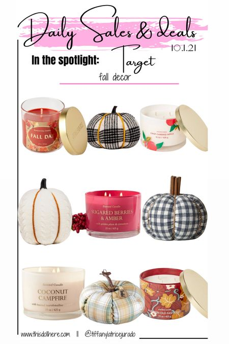 Fall decor, fall home decor, center pieces, fall candles, pumpkins  #LTKhome #LTKSeasonal #LTKGiftGuide