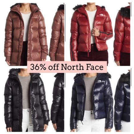 North face jackets on sale. Puffer jacket. Winter coat   #LTKSeasonal #LTKGiftGuide #LTKsalealert