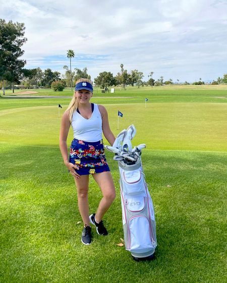 I used to hate housework, until I learned how to use my iron ⛳️  On a real note, I've picked up another fun sport & Im totally digging it! (Sometimes literally).  But seriously, they joy you get from thwacking a ball is pretty unreal 🤙🏻  Sorry I can't tag my Spongebob skirt on LTK, it's a very rare find 💁🏼♀️  Shop my styles @liketoknow.it http://liketk.it/3dvM7 #liketkit #LTKunder50 #LTKfit  #LTKitbag