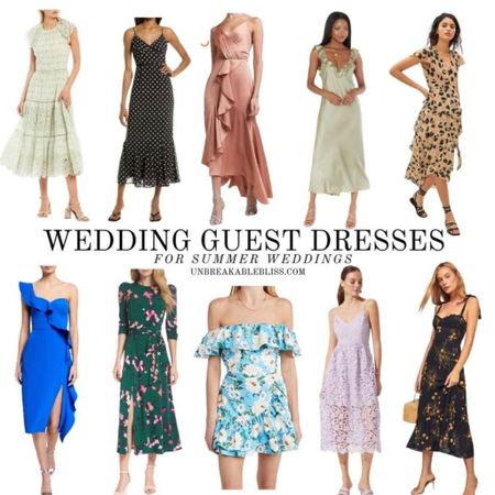 Had to reshare some summer wedding guest dresses because summer wedding season is in full swing, and who doesn't love a cute summer dress! @liketoknow.it #liketkit #LTKwedding #LTKunder100 #LTKstyletip http://liketk.it/3h1xT