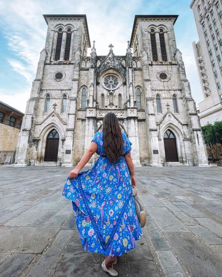 This dress is finally back in stock in all colors and sizes! Wearing a size medium. http://liketk.it/3jXu8 #liketkit @liketoknow.it #LTKunder50 #LTKstyletip #LTKtravel #amazon #amazonfashion #amazonfinds #dress #summerdress #maxidress #mididress #strawbag #summerstyle #summerdress